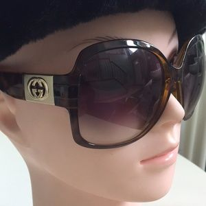 GUCCI Tortoise Pink Authentic Sunglasses